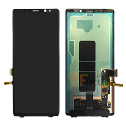 Note 8 Lcd assembly Black