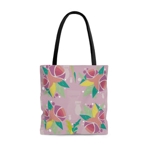 Fresh to Death Tote Bag: Pink Lavender