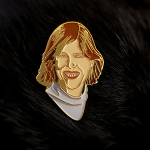 Cynthia Kenyon Enamel Lapel Pin / Brooch