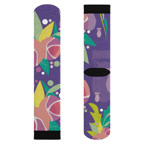 Fresh to Death Socks: Ultra Violet