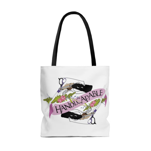 Handi-Capable Edward Scissorhands Inspired Tote Bag
