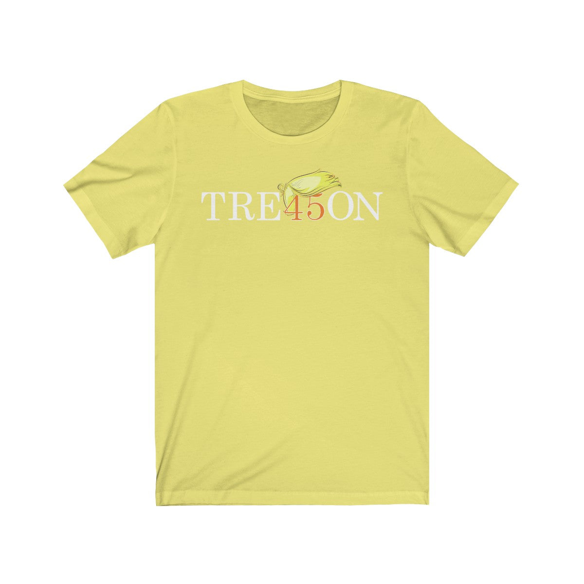 TRE45ON Unisex Jersey Short Sleeve Tee: Light