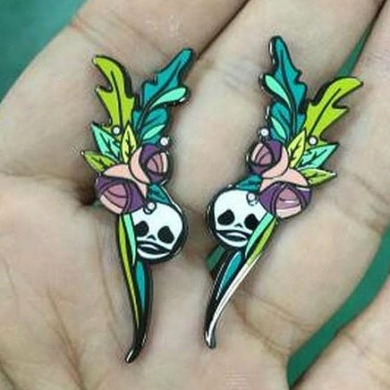 Earrings with Character