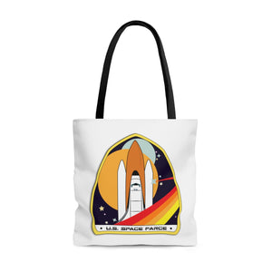 Space Farce Tote Bag