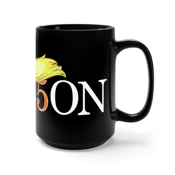 TRE45ON Black Mug 15oz