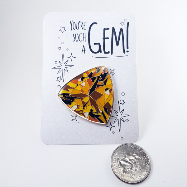 New Gemstone Pins