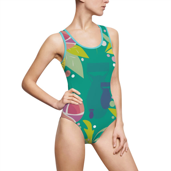 Fresh to Death One-Piece Swim: Arcadia
