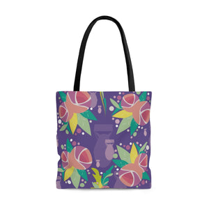 Fresh to Death Tote Bag: Ultra Violet