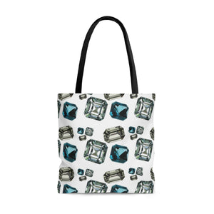 Gemstone Tote Bag