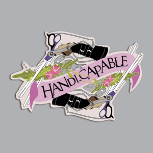 Edward Scissorhands Handy-Capable Patch: Pre-Order