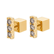 Load image into Gallery viewer, DIAMOND STUDS NO3