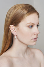 Load image into Gallery viewer, TEARDROP EARRING - SILVER