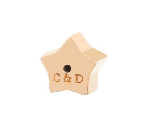 C&D STAR EARRING BACK - ROSE GOLD