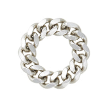 Load image into Gallery viewer, CHAINLINK RING - STERLING SILVER