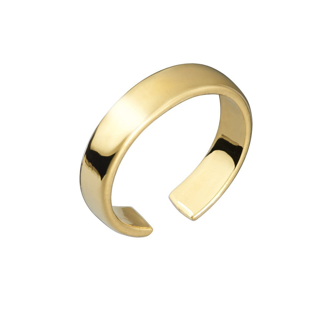 CUFF RING - YELLOW GOLD