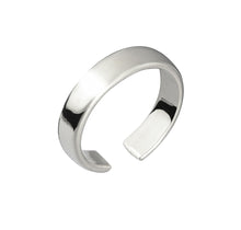 Load image into Gallery viewer, CUFF RING - SILVER PLATED BRASS