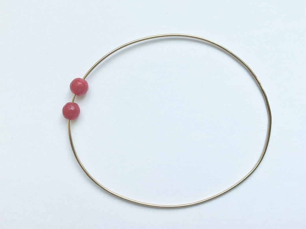 RESORT WIRE BRACELET - RUBY