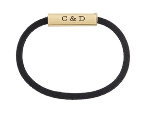 C&D HAIR-TIE - BRASS