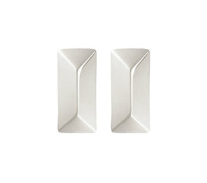 RECTANGLE STUDS - SILVER