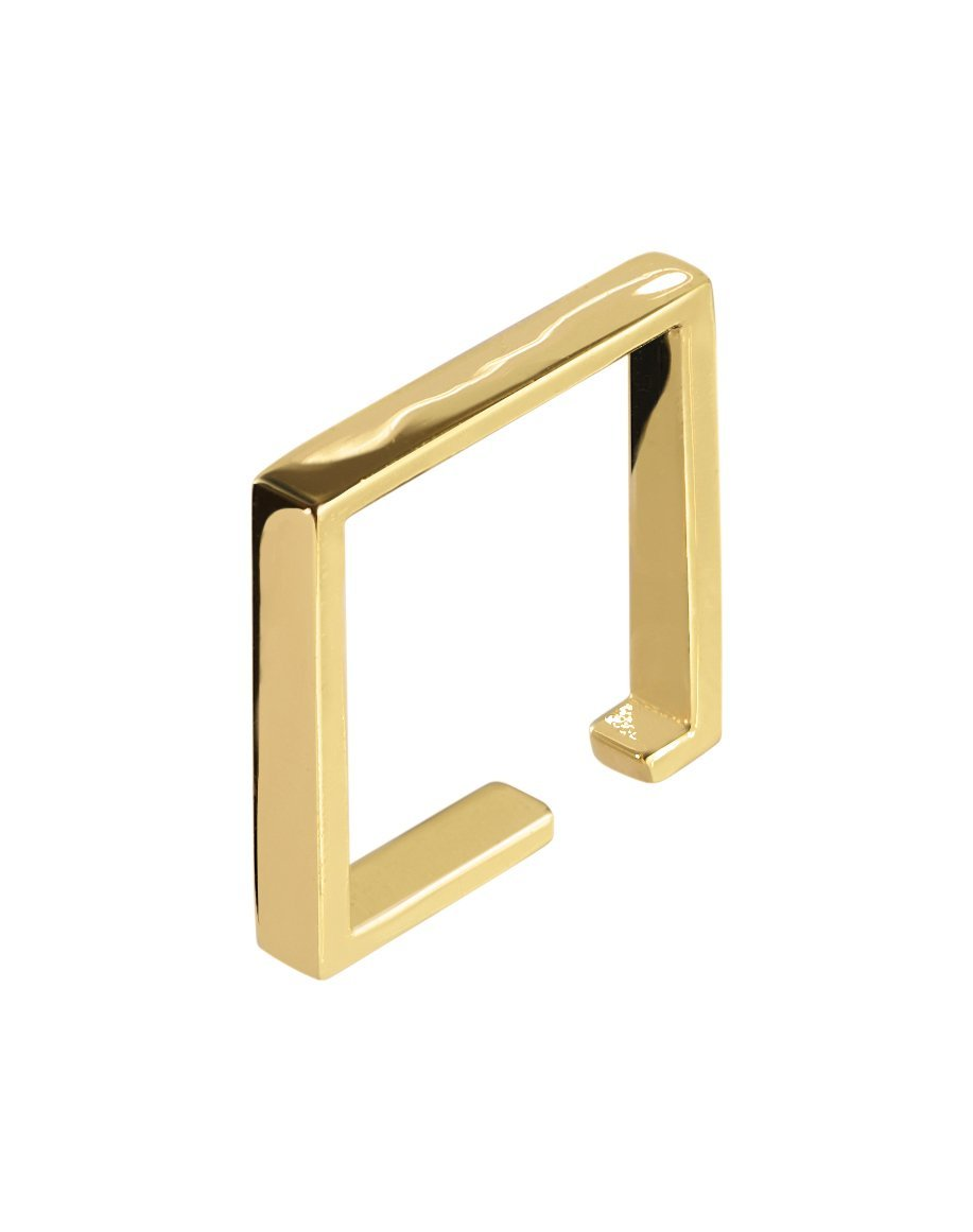 SQUARE CUFF - YELLOW GOLD