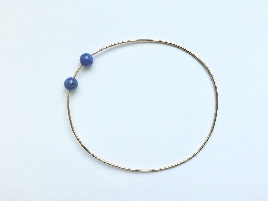 RESORT WIRE BRACELET - BLUE