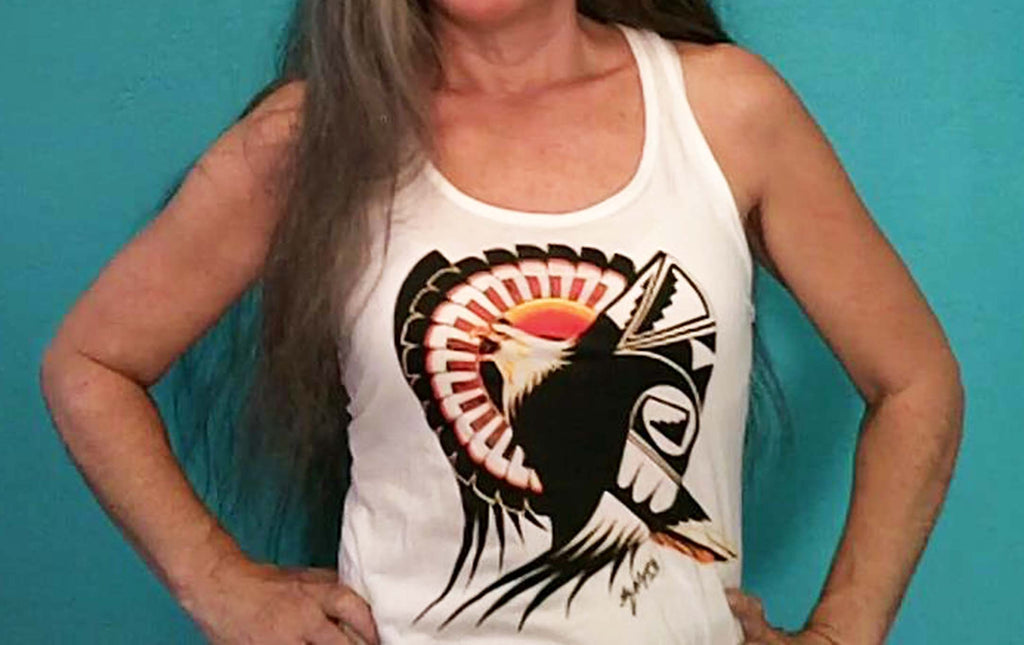 Tank Top Pride of an Eagle (Designer Women's Tank Top)
