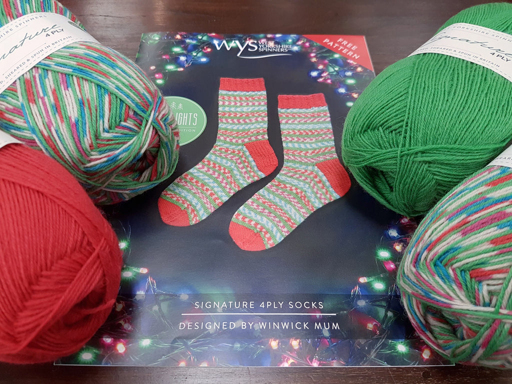 New Arrival: WYS Christmas Sock Yarn