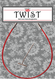 Twist Red Cable, Large