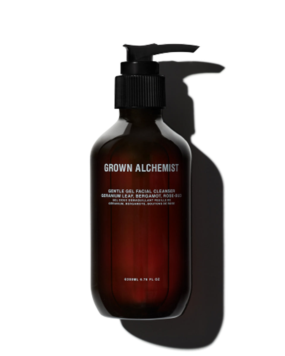 Grown Alchemist Gentle Gel Facial Cleanser - Purple Menswear