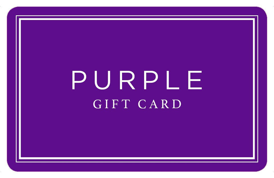 Purple Gift Card - Physical