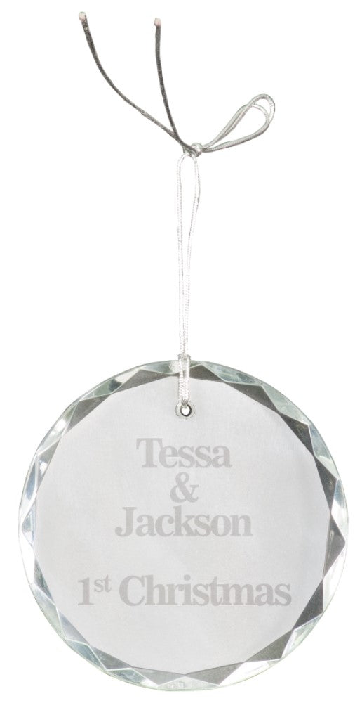Crystal Ornament-Round
