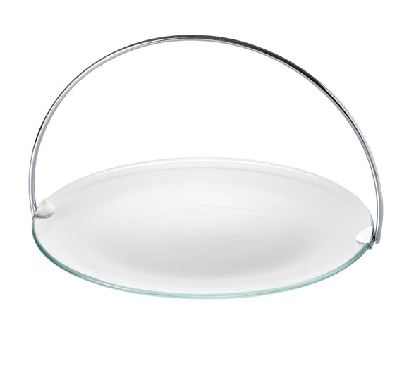 Serving Platter w/Removable Handle