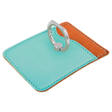Travel Gift Set with Passport Holder, Luggage Tag and Phone Wallet with Ring