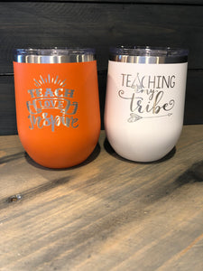 Teacher Insulated Stemless Wine Cup