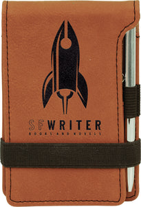 Mini Notepad with Pen - 8 color options