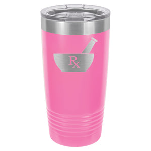Rx Pharmacist Tumbler 20 oz. - 18 color options