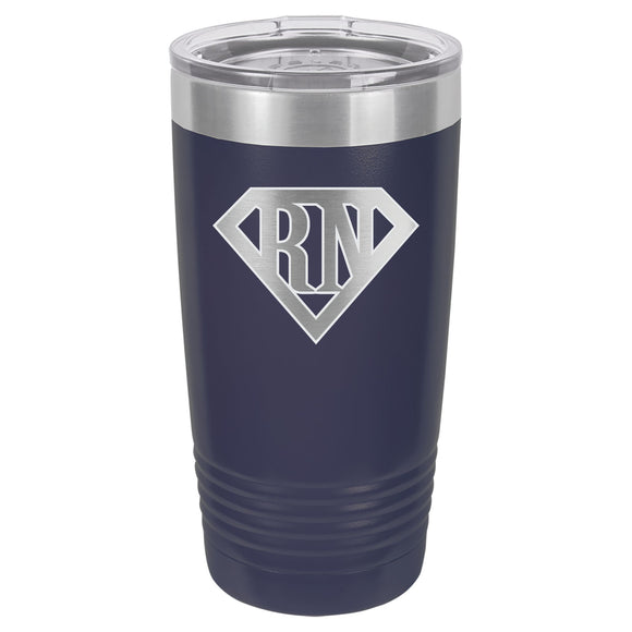 Superhero RN Tumbler 20 oz. - 18 color options
