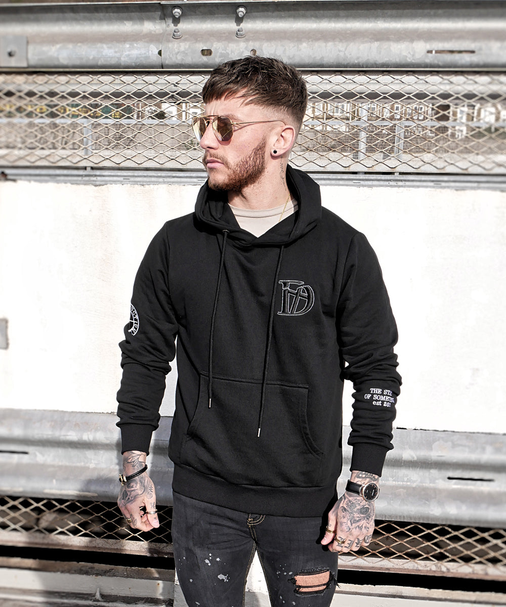 Black The Original Hoodie - Destruct Clothing