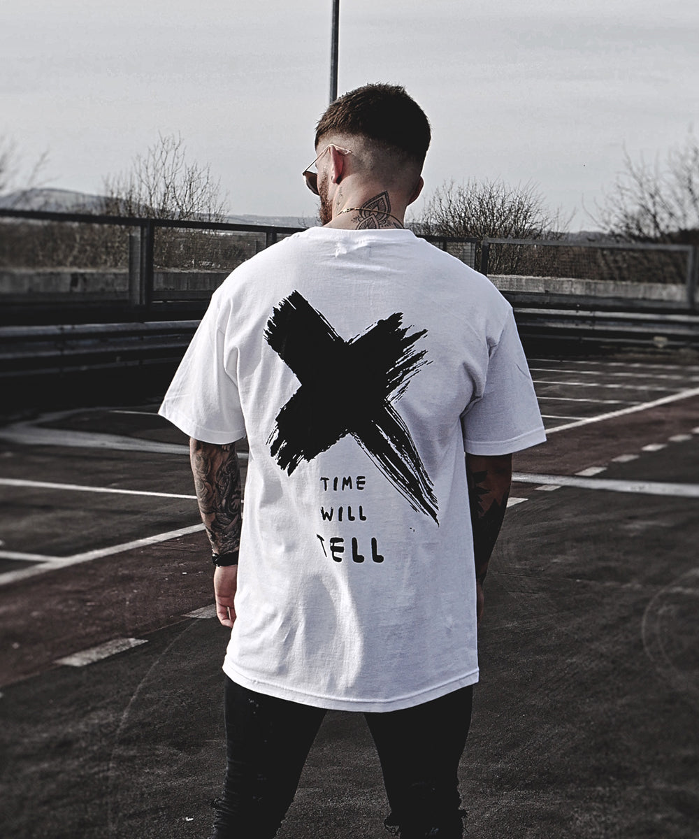 Time Will Tell - White - Destruct Clothing