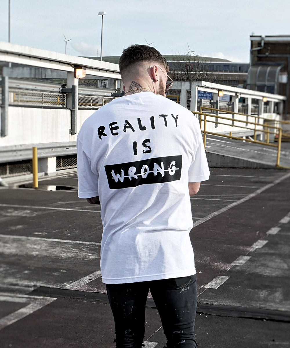 Reality Is Wrong - White - Destruct Clothing