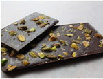72% Pistachio & Sea Salt Chocolate Bar Chocolate - Casa de Chocolates
