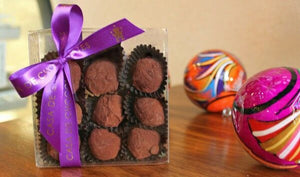 9 Piece Box of Truffles Chocolate - Casa de Chocolates