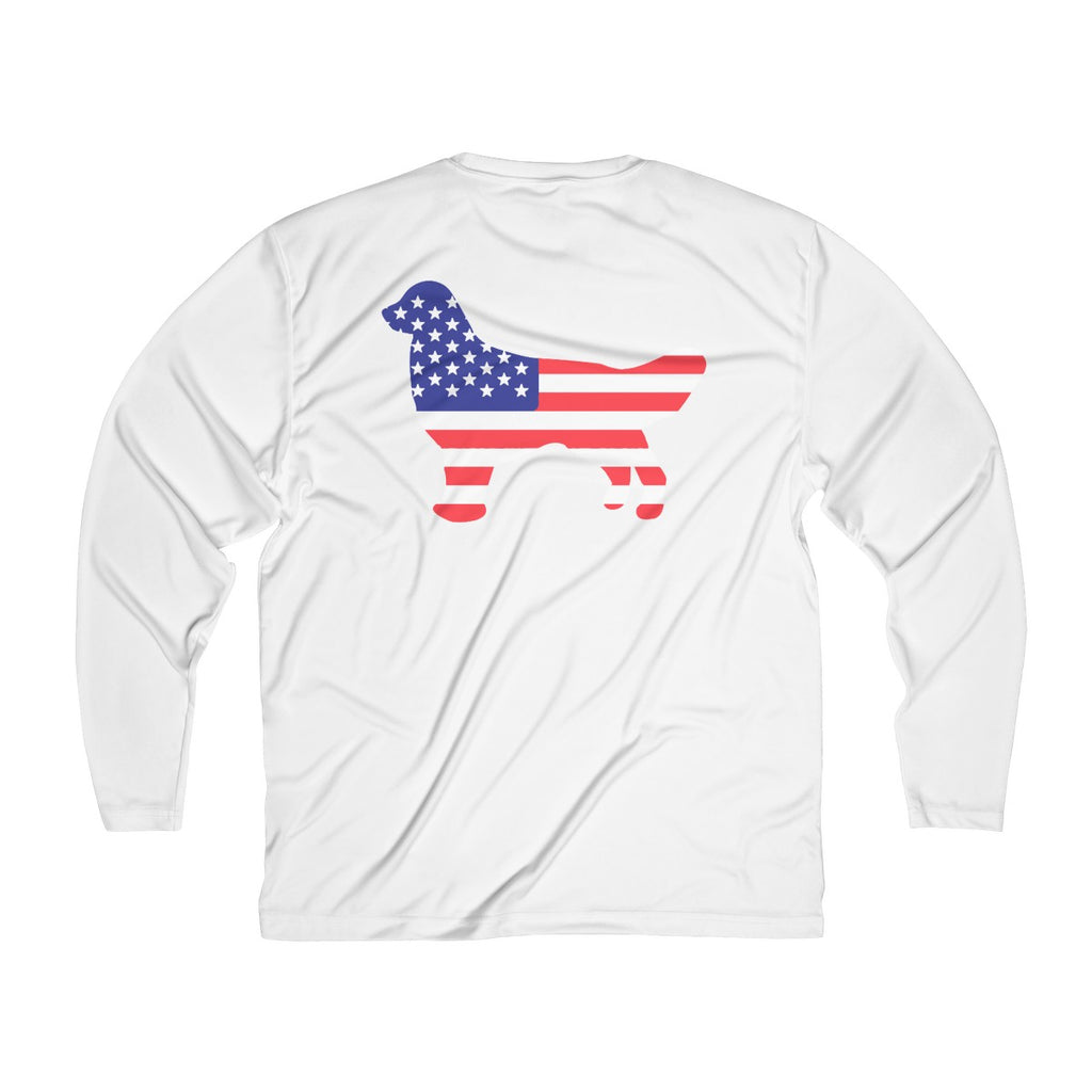 All American Good Boy Men's Performance Long Sleeve Tee