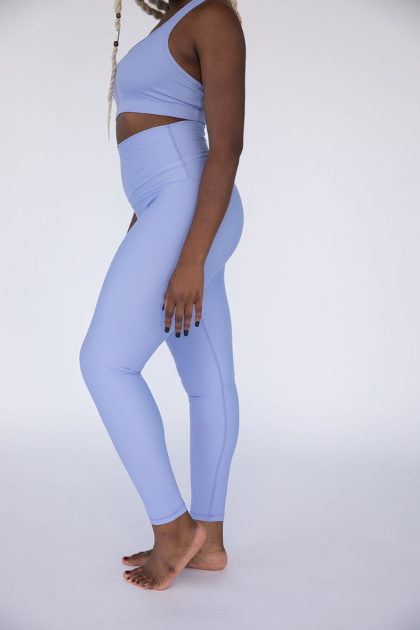 Serenity Solid High Waisted Leggings