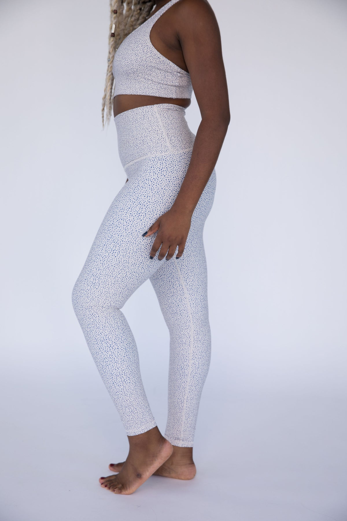 Spot On High Waisted Leggings - FINAL SALE