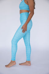 Pineapple Paradise High Waisted Leggings