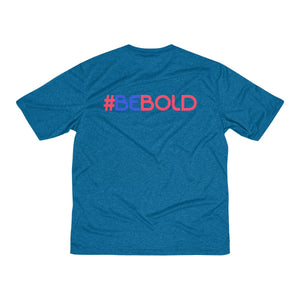 #BeBold Men's Heather Dri-Fit Tee