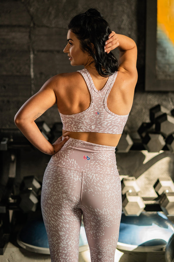 Cappuccino Performance Sports Bra
