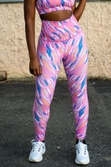 Eye Of The Tiger High Waisted Leggings - FINAL SALE