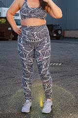 Be-Leaf In Yourself High Waisted Leggings - FINAL SALE